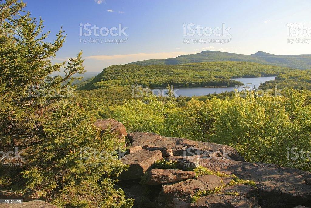 North-South Lake stock photo