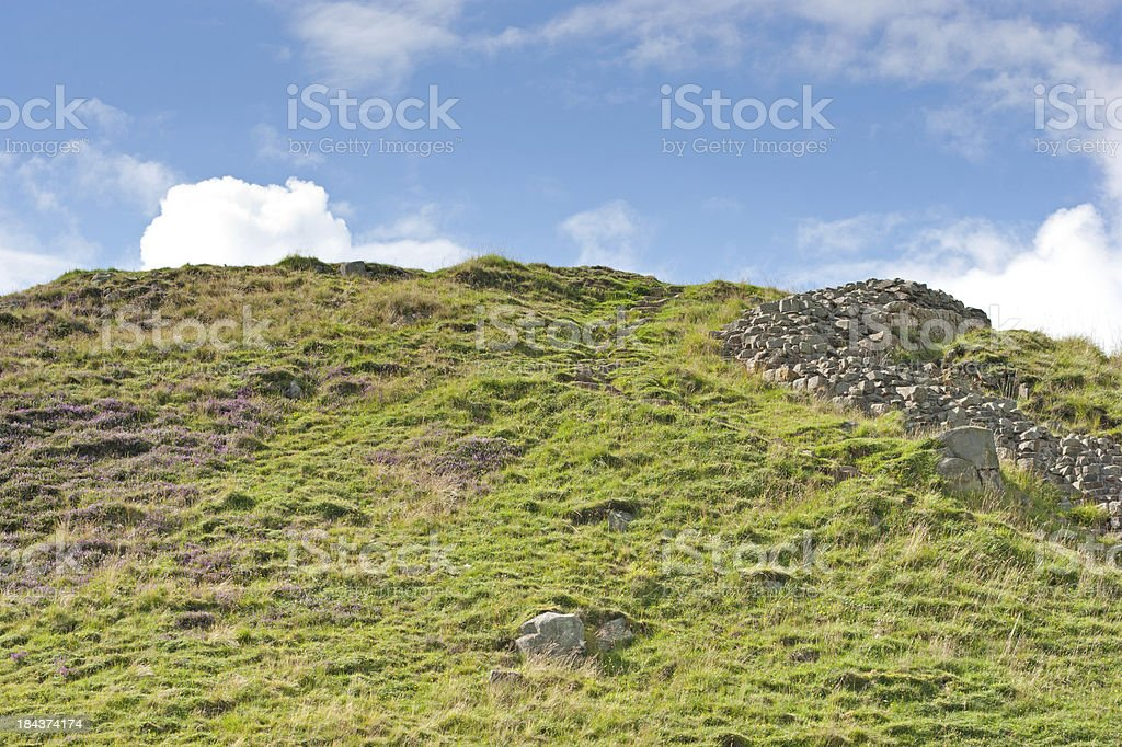 Northumberland countryside royalty-free stock photo