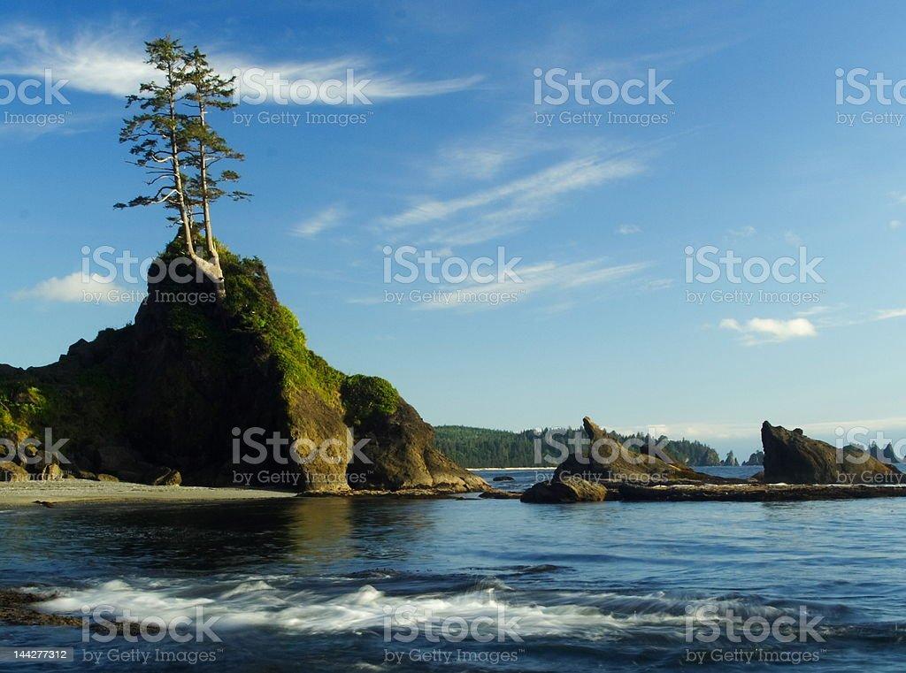 Northwest Beach royalty-free stock photo