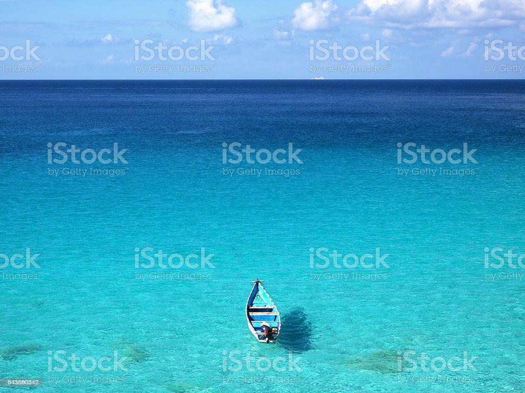 North-west coast of Socotra Island, Yemen stock photo
