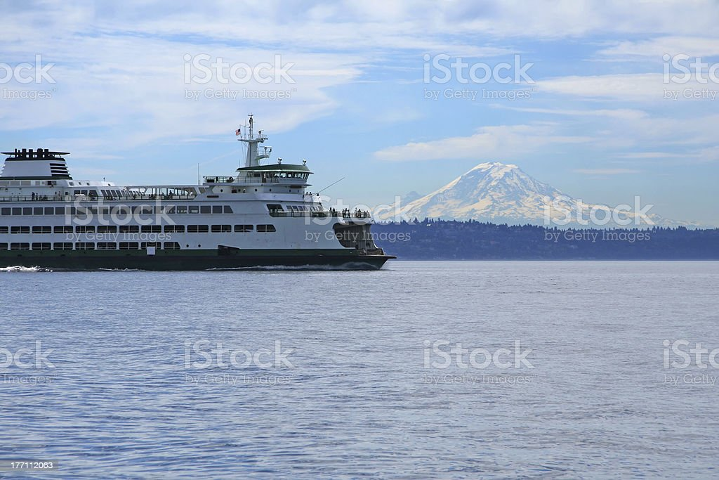 Northwest Ferry royalty-free stock photo