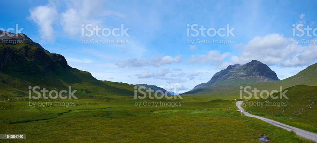 Northwest Highland Landscape stock photo