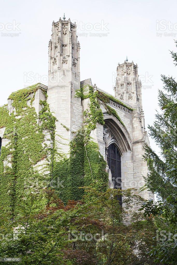 Northwestern University Deering Library royalty-free stock photo