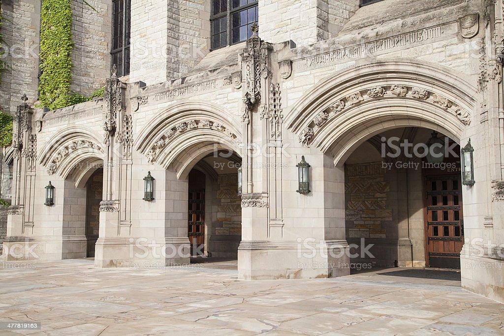 Northwestern University Deering Library stock photo
