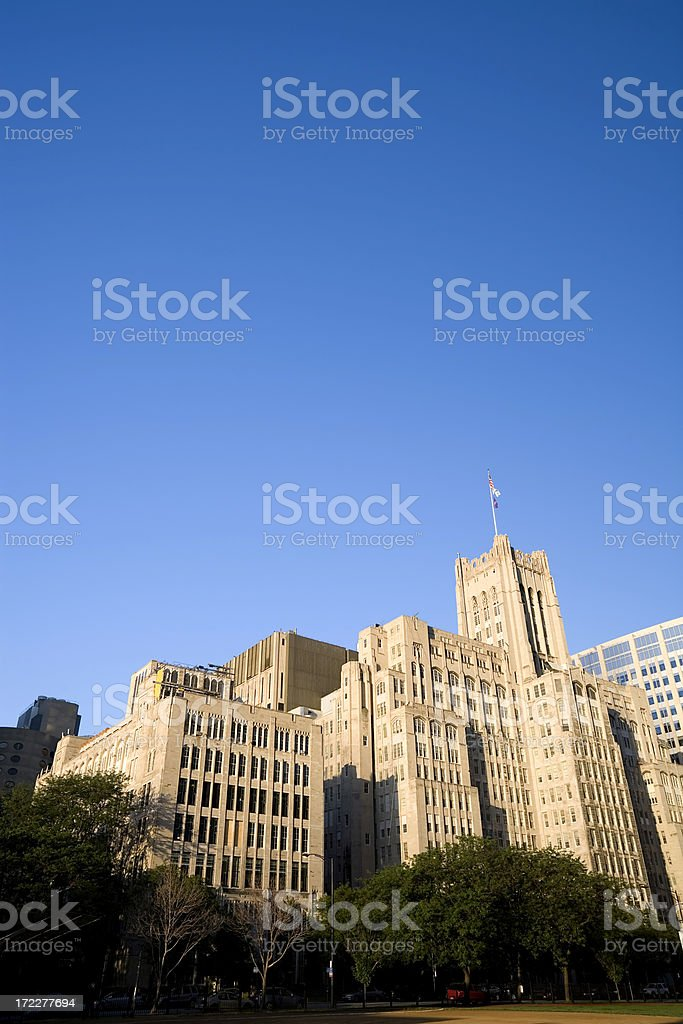 Northwestern University Downtown Chicago stock photo