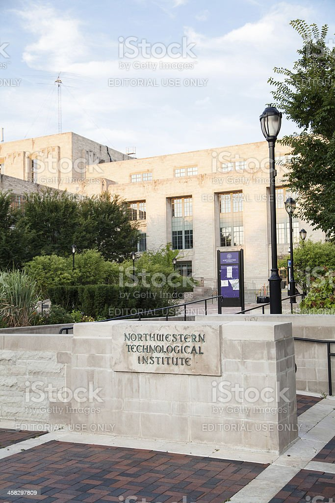 Northwestern University - Technological Institute royalty-free stock photo