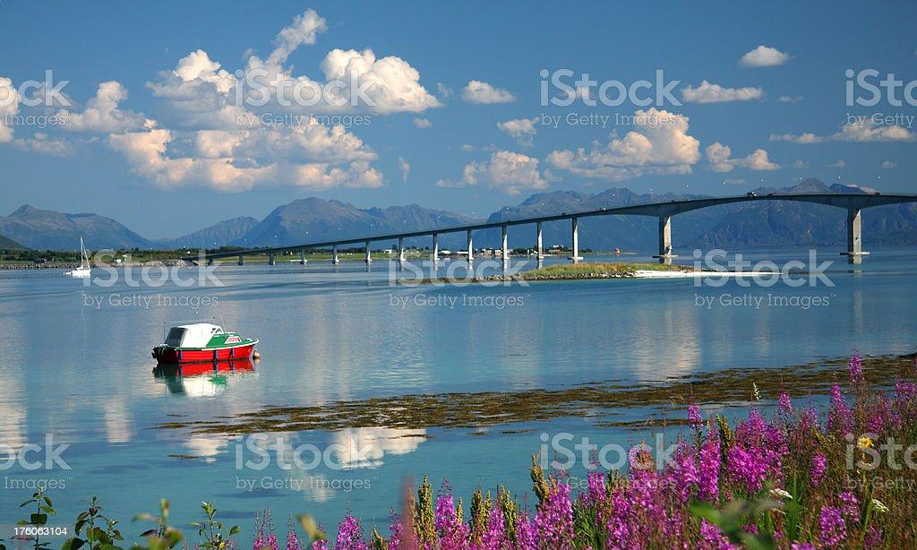 Norvegian Scenic royalty-free stock photo