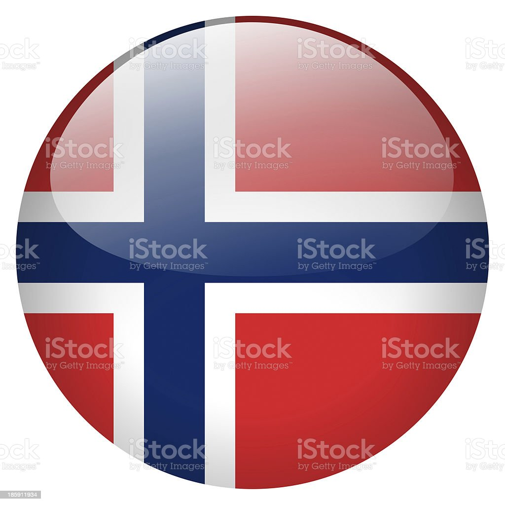 norway button royalty-free stock photo