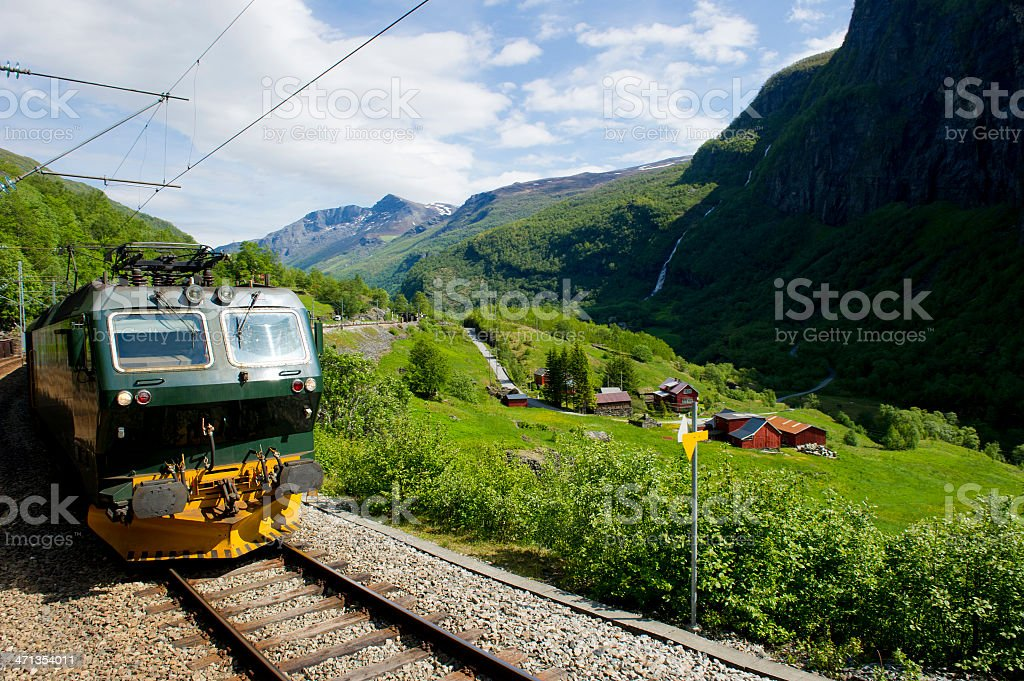 Norway by Rail royalty-free stock photo