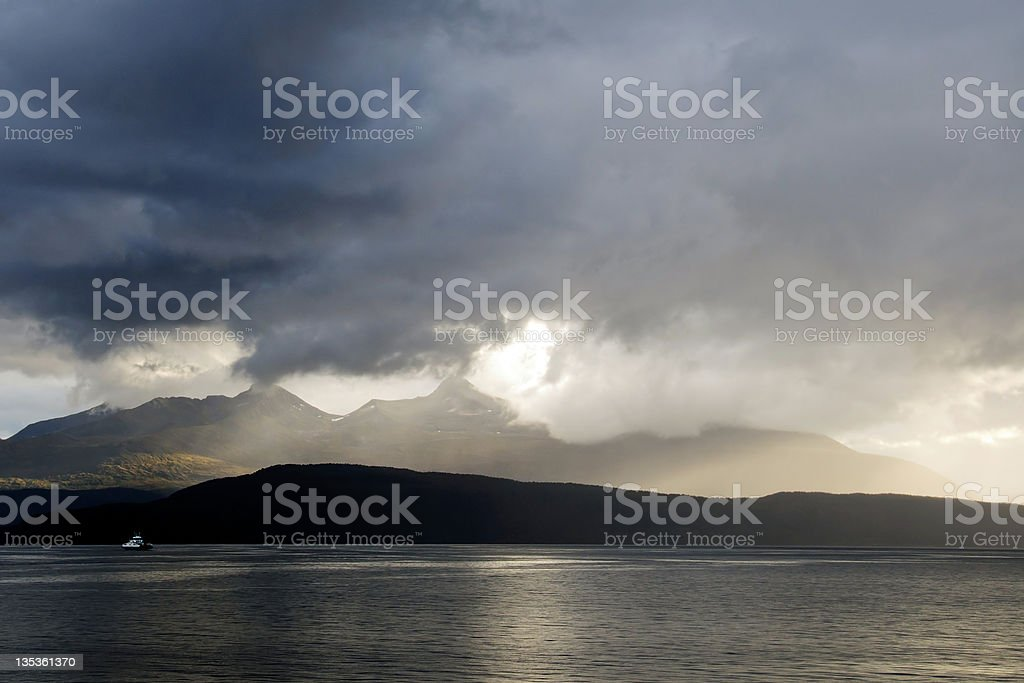 Norway Coast stock photo