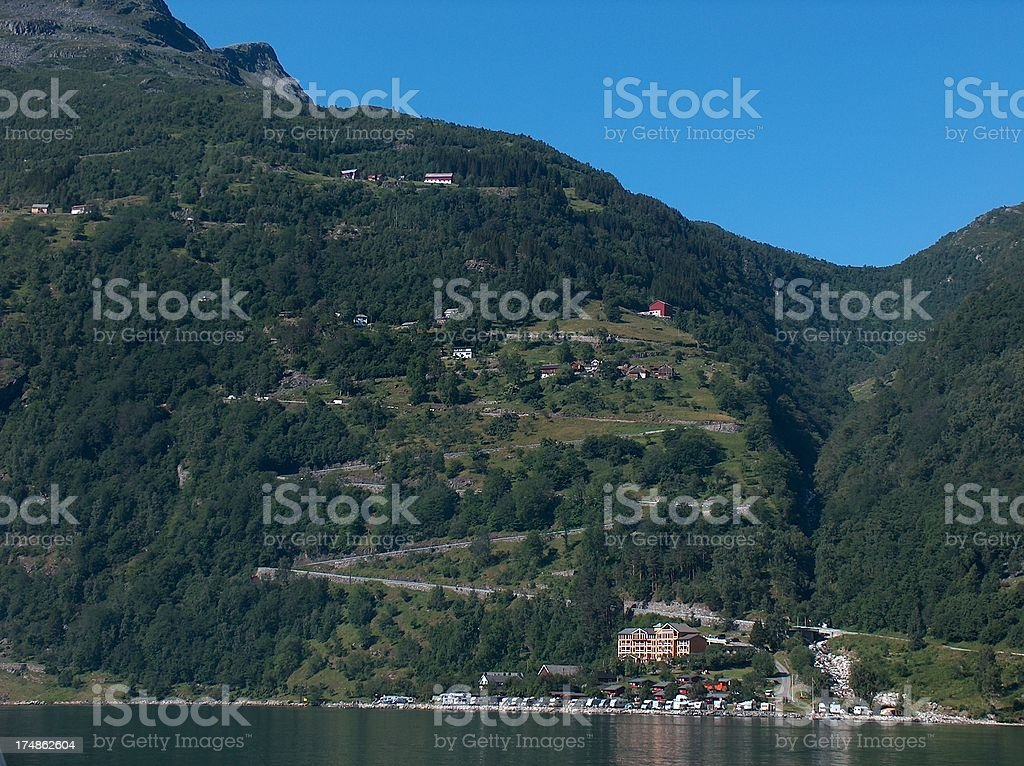 Norway Fjord royalty-free stock photo