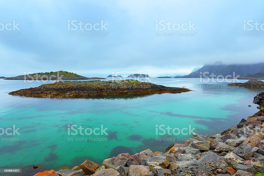 Norway, fjord stock photo