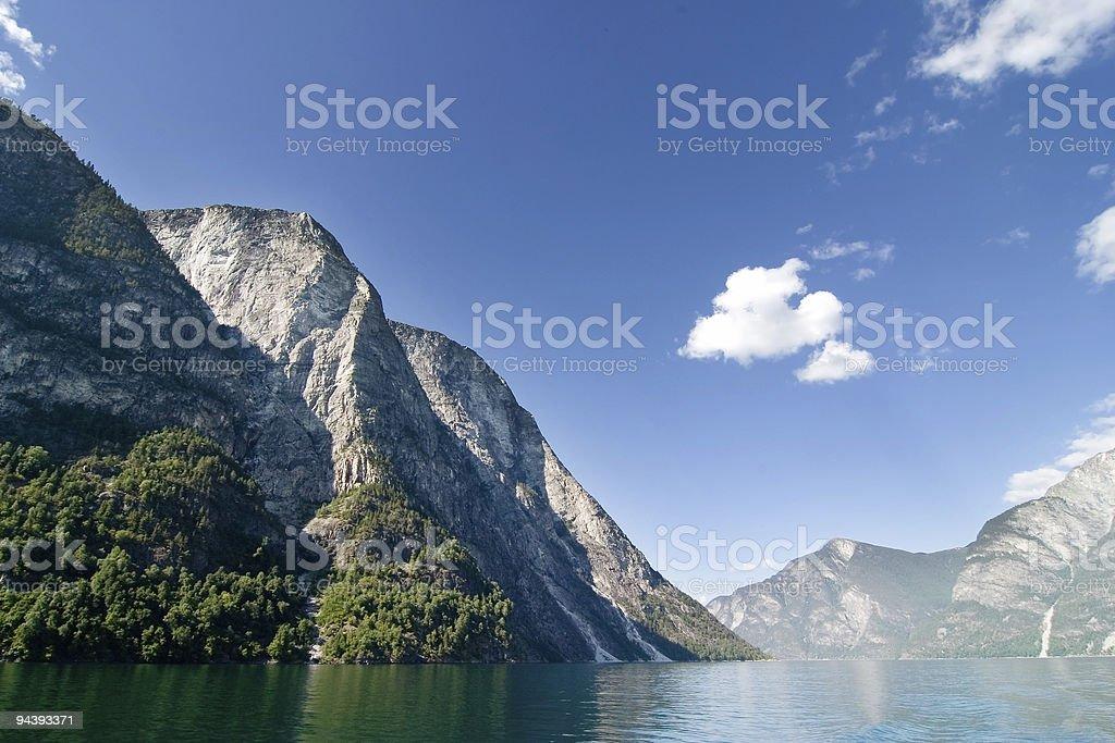 Norway Fjord Scenic stock photo