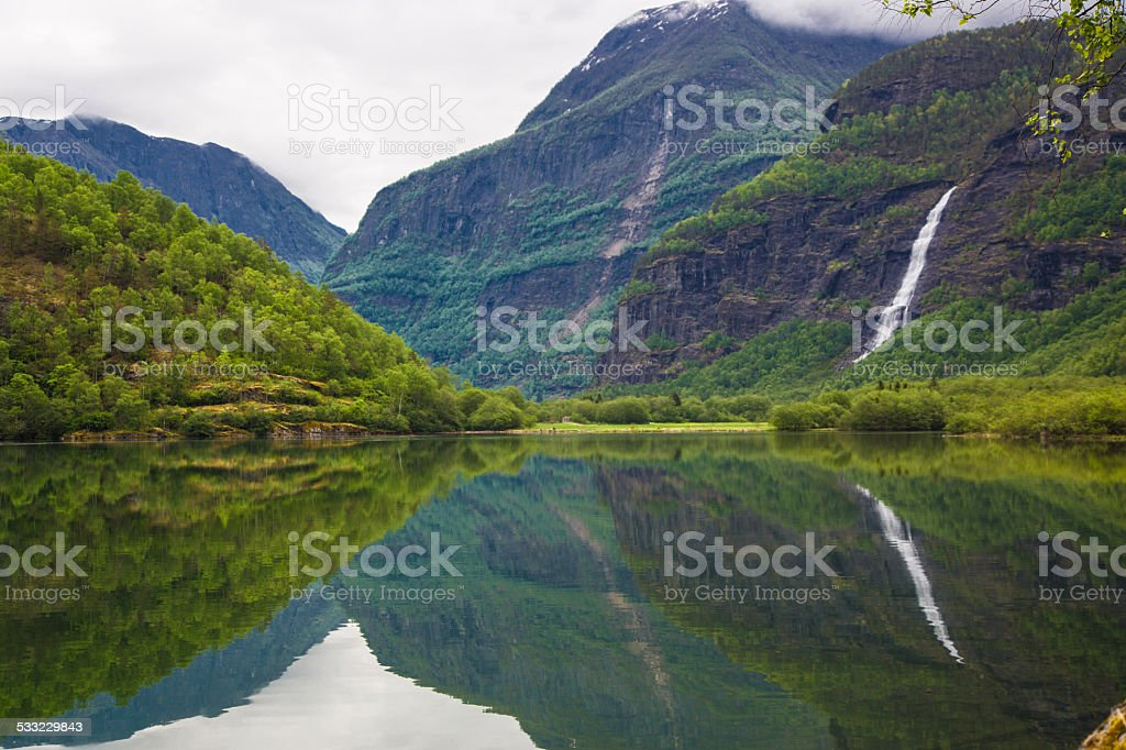 Norway in May stock photo