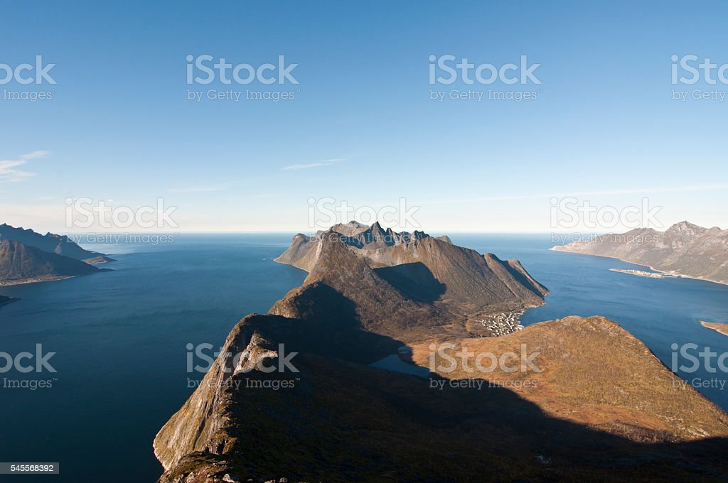 Norway, island Senja stock photo