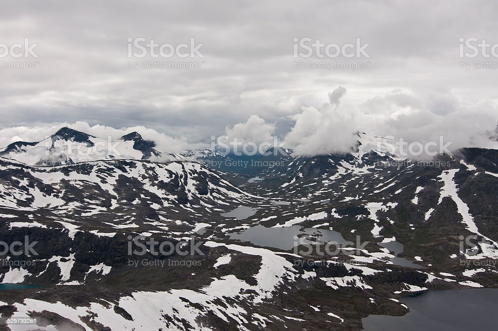 Norway, Jotunheimen  National Park stock photo