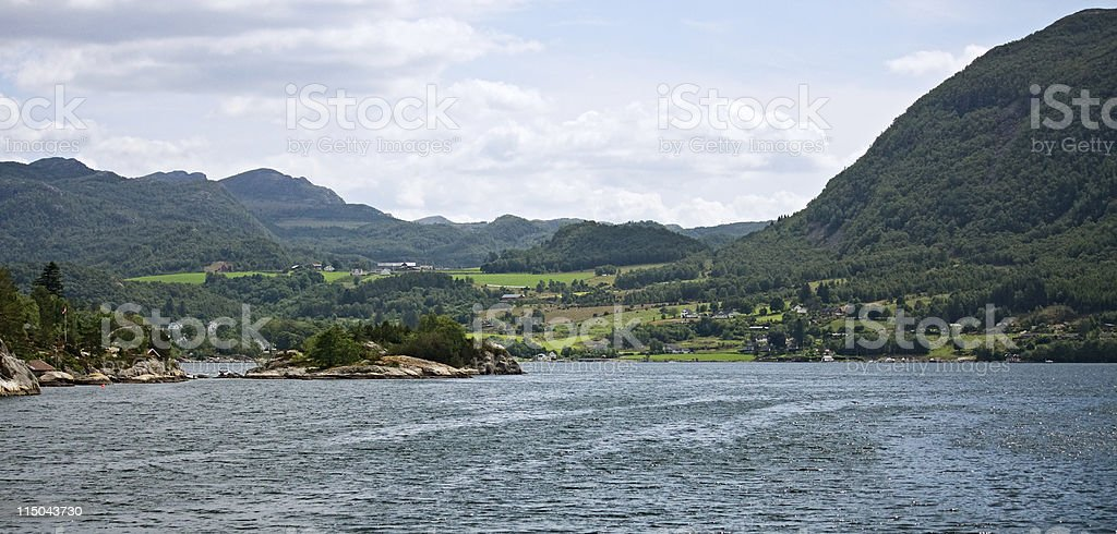 Norway landscape royalty-free stock photo