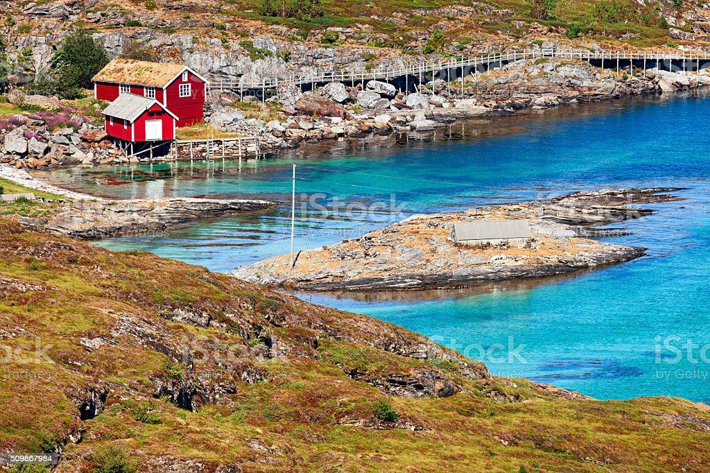 Norway landscape stock photo