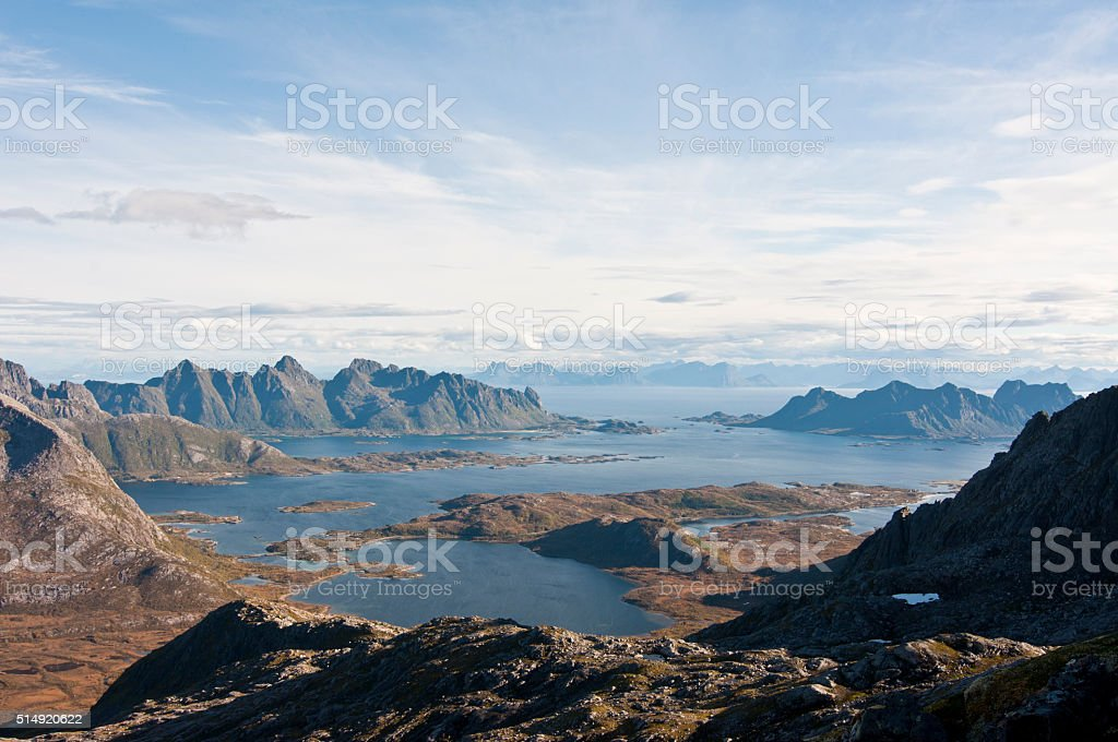 Norway, Lofoten islands stock photo