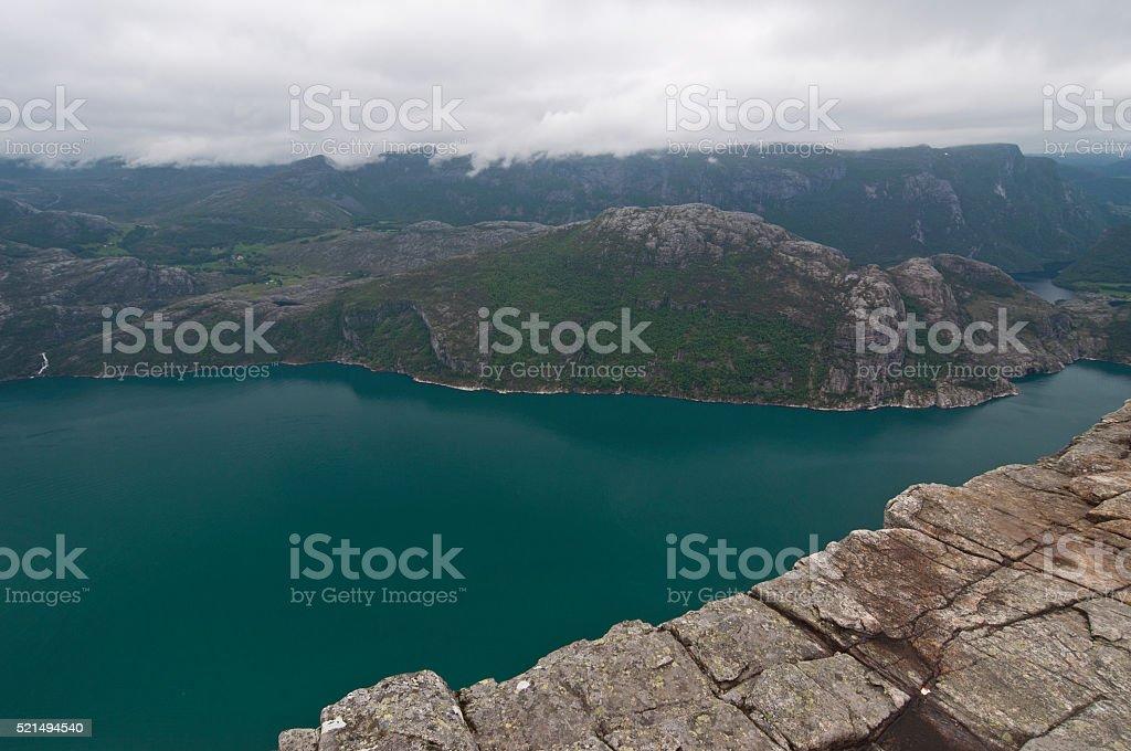 Norway, Lysefjord stock photo