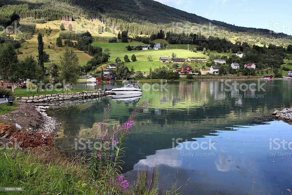 Norway - Nordfjord stock photo