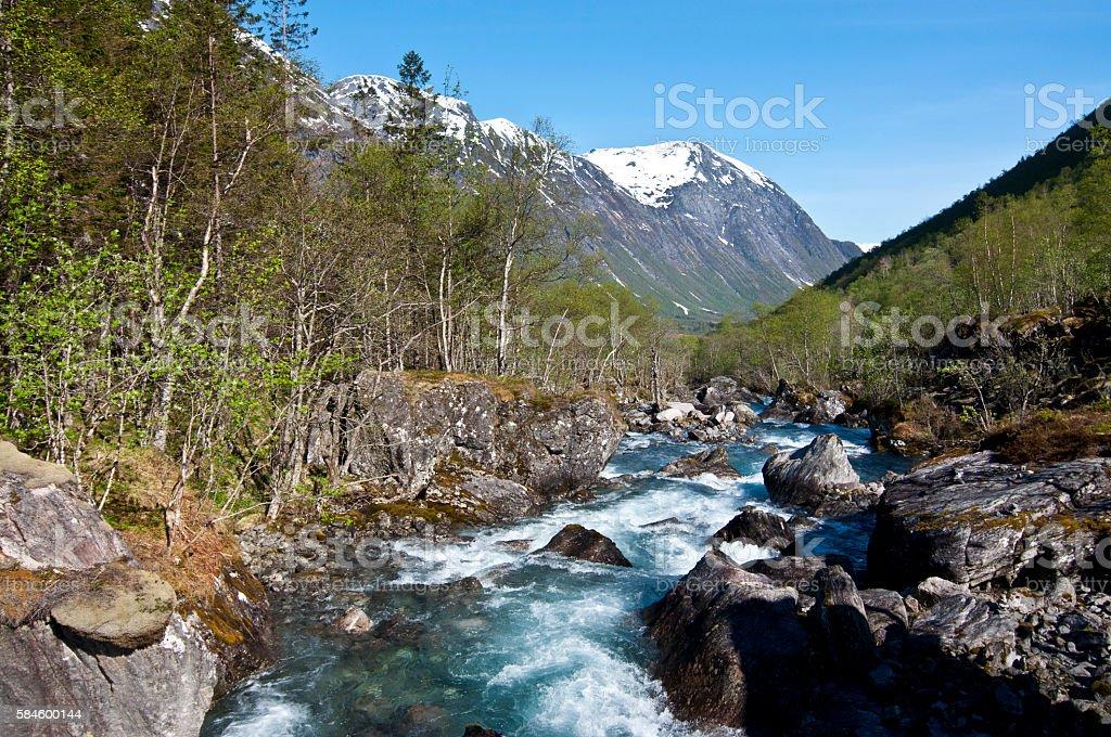 Norway. Norwegian nature stock photo