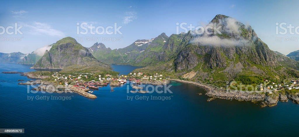 Norway panorama stock photo