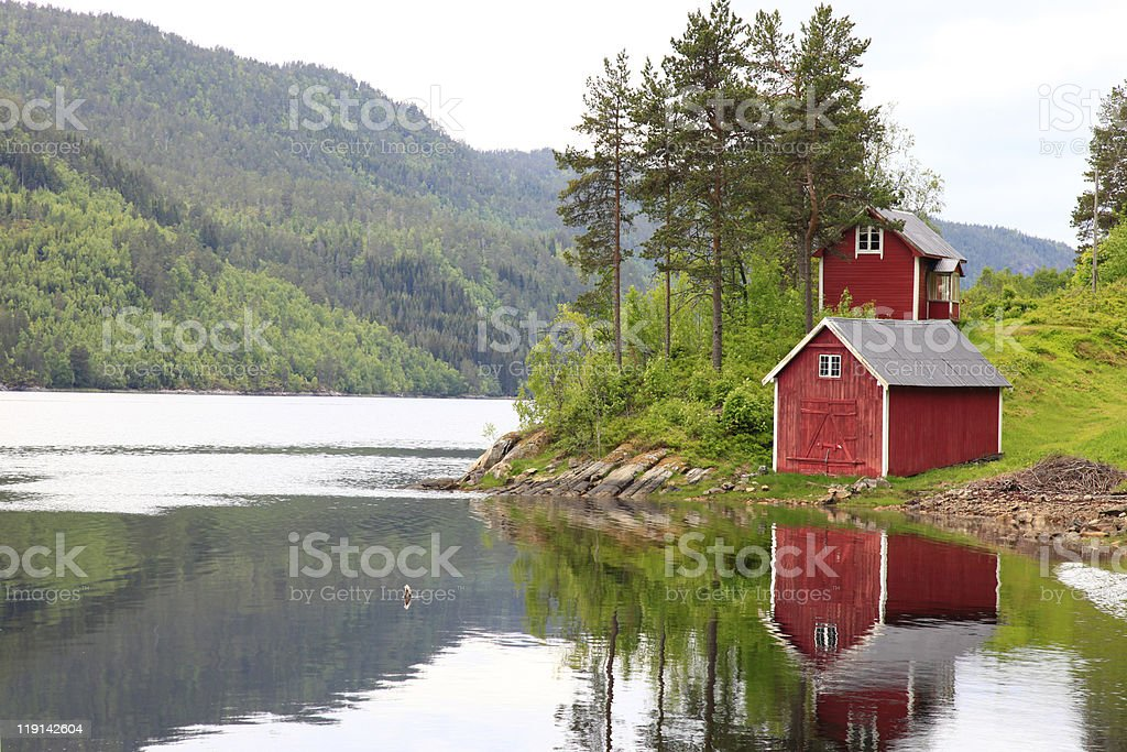 norway stock photo