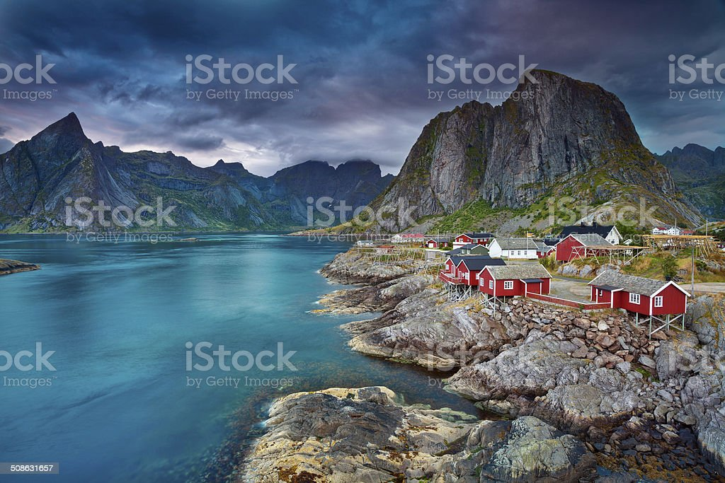 Norway. stock photo