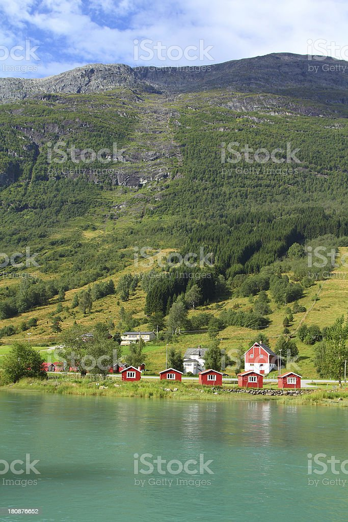 Norway, Sogn of Fjordane stock photo