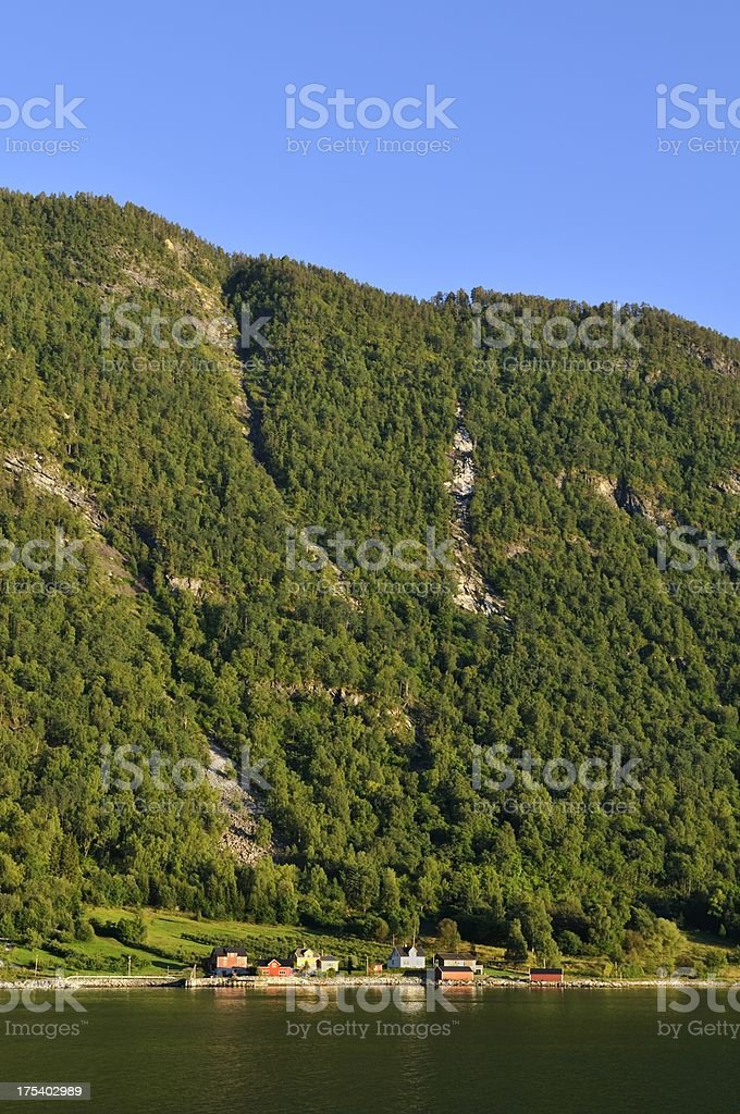 Norway view royalty-free stock photo