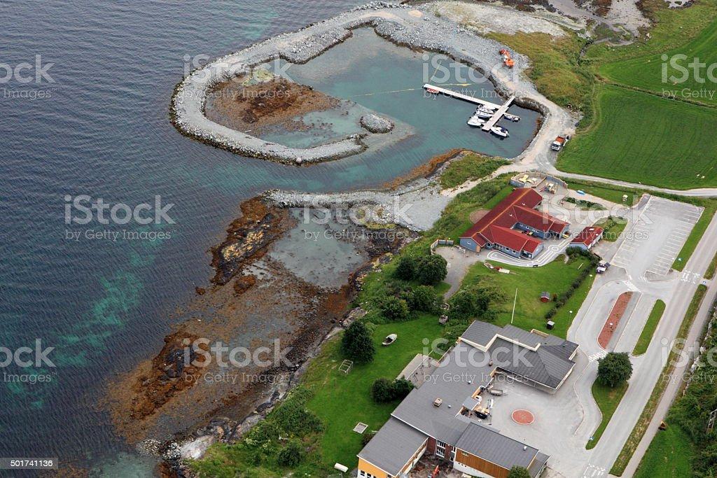 Norway.Sagfjorden stock photo
