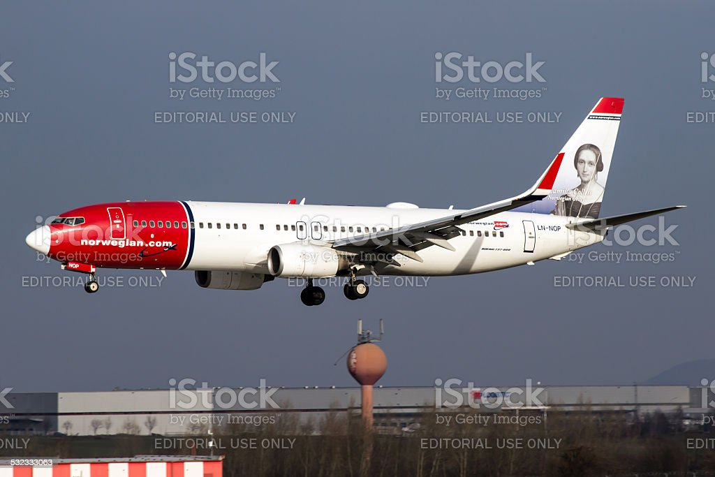 Norwegian Air Shuttle stock photo