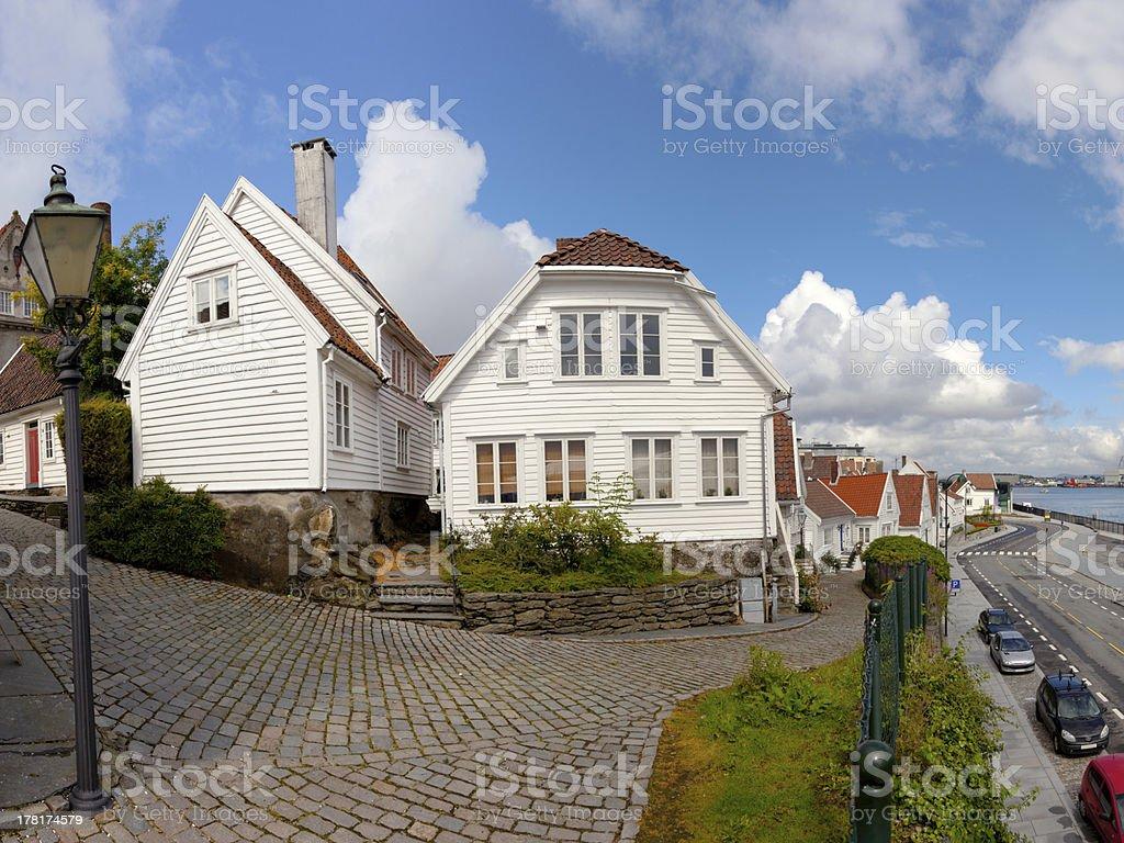 Norwegian architecture royalty-free stock photo