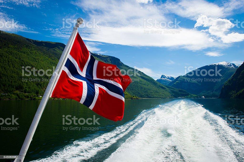 Norwegian Fjord Tours stock photo