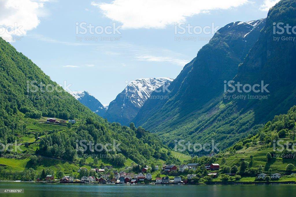 Norwegian Fjords royalty-free stock photo