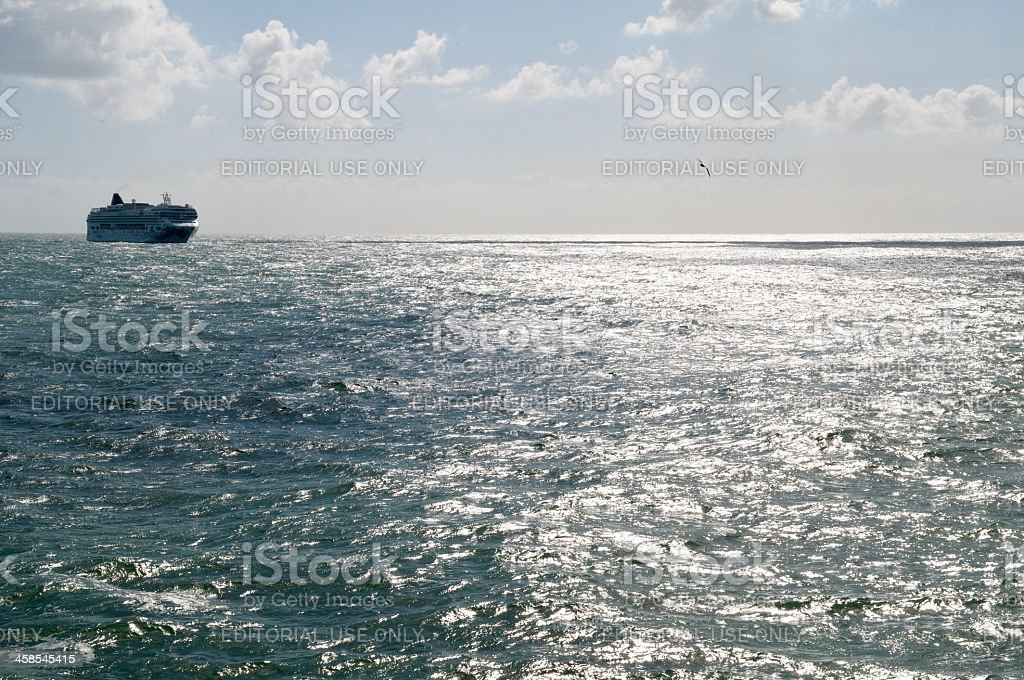 Norwegian Gem at sea stock photo