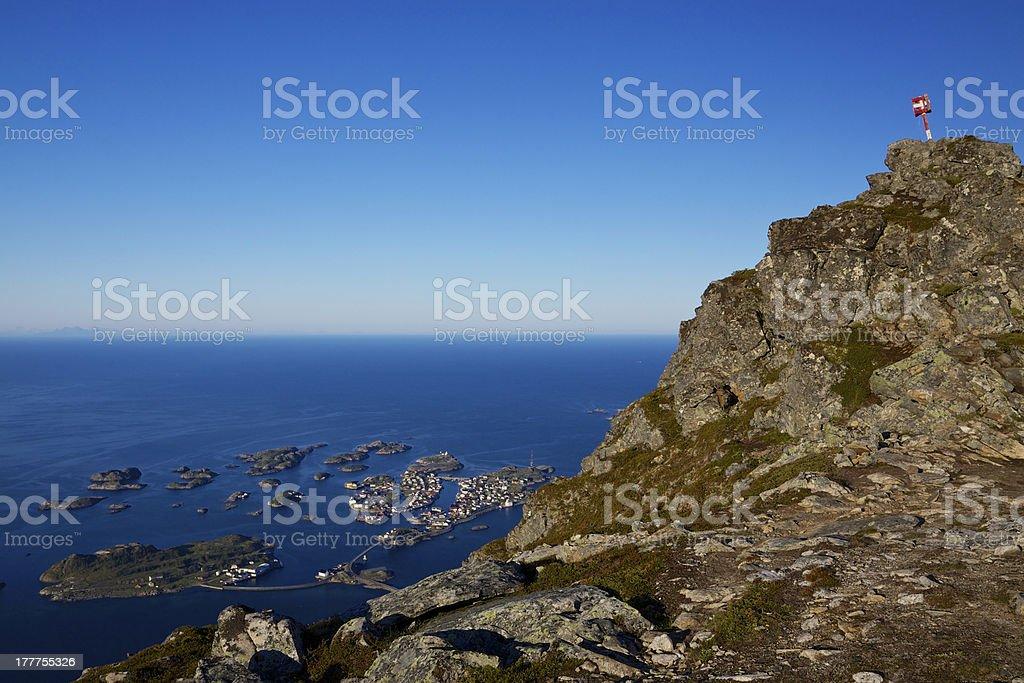 Norwegian nature royalty-free stock photo