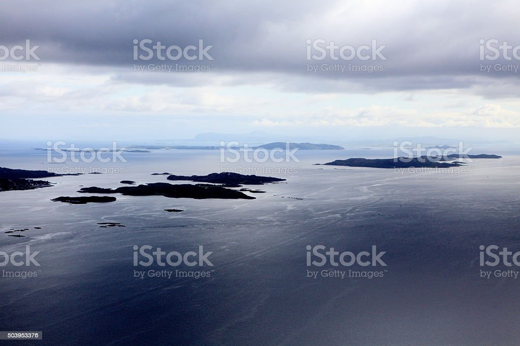 Norwegian Seascape stock photo