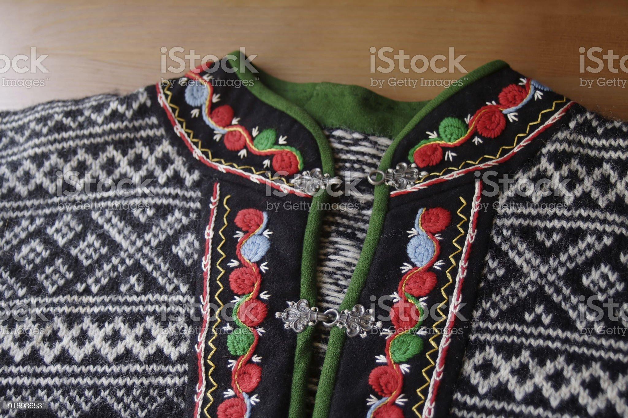 Norwegian Sweater royalty-free stock photo
