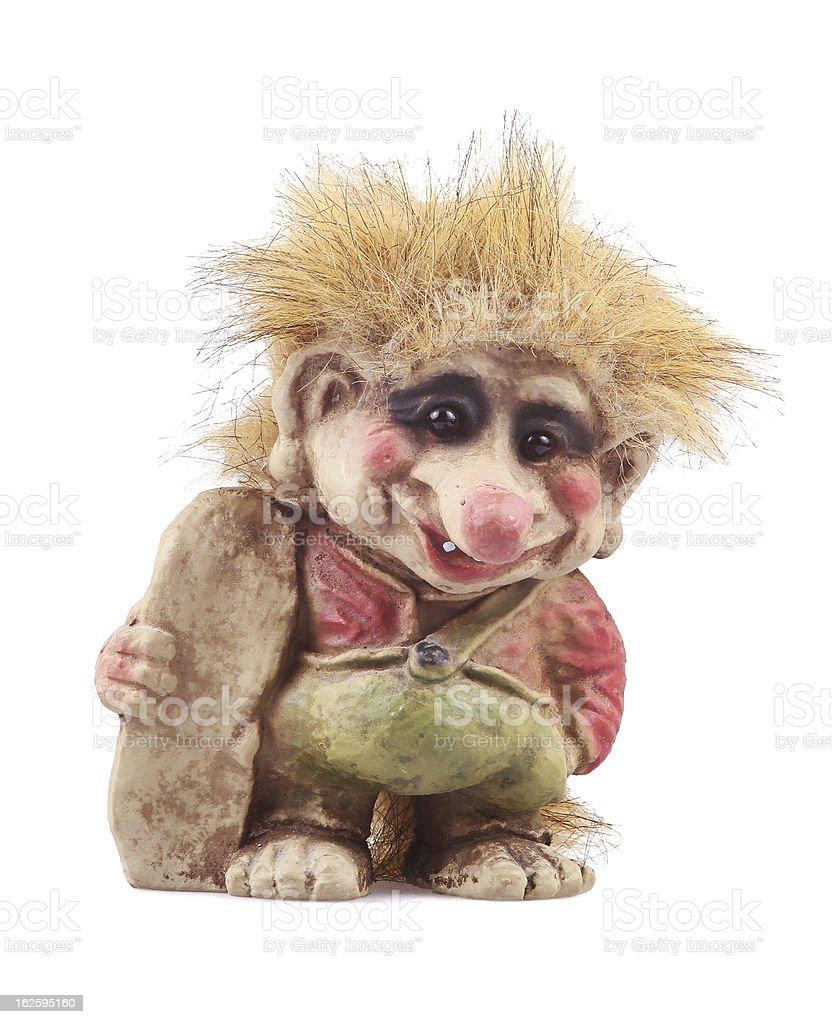 Norwegian troll stock photo
