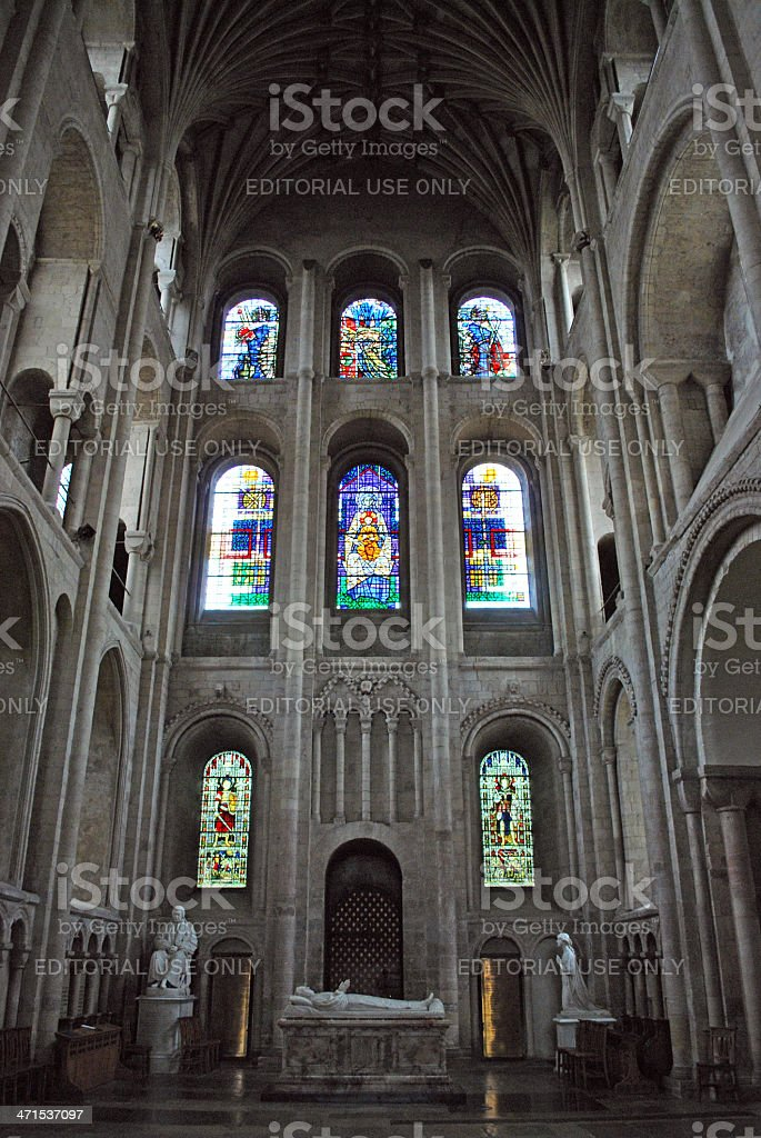 Norwich Cathedral 2 royalty-free stock photo