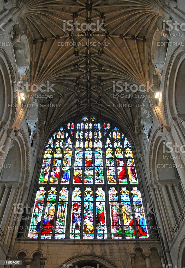 Norwich Catherdral 1 royalty-free stock photo