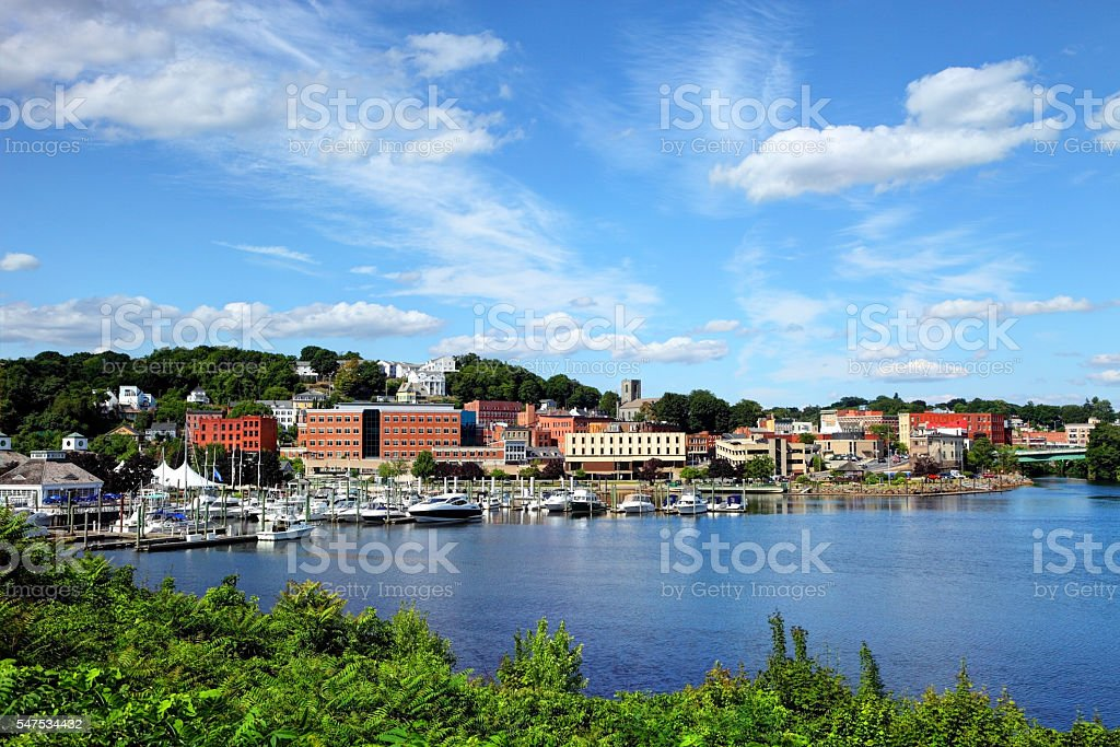 Norwich, Connecticut stock photo