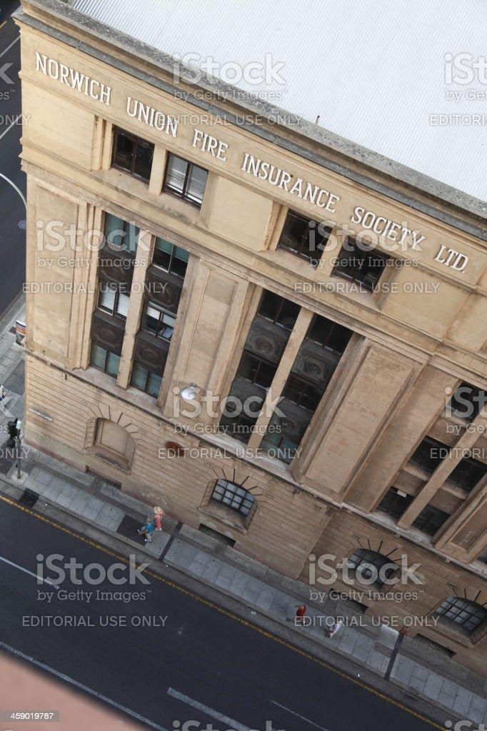 Norwich Union royalty-free stock photo