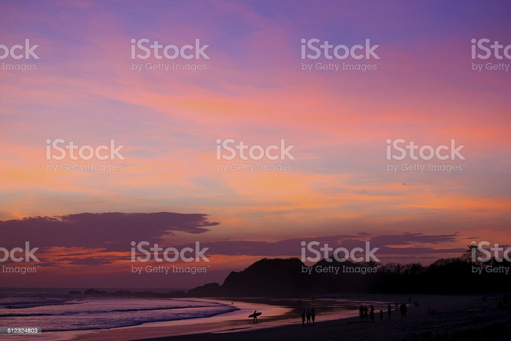 Nosara Costa Rica stock photo