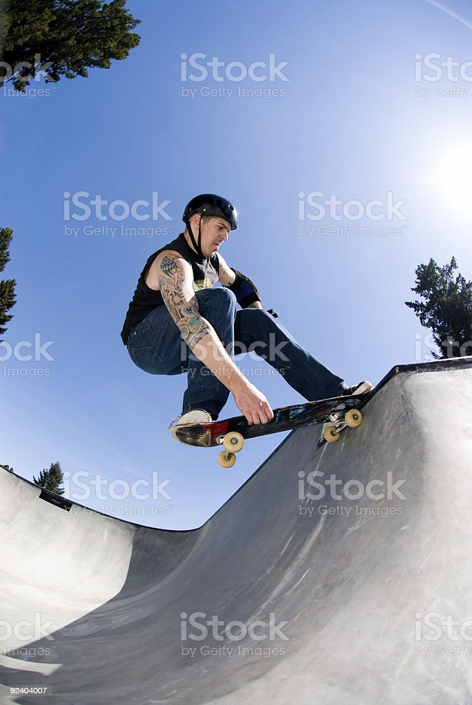 Nose Stall with Grab stock photo