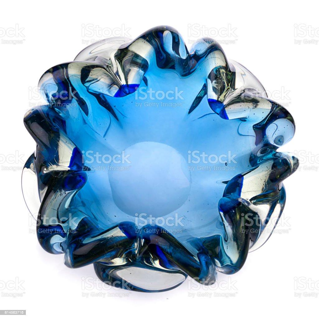 Nostalgic Murano Glass Ashtray stock photo