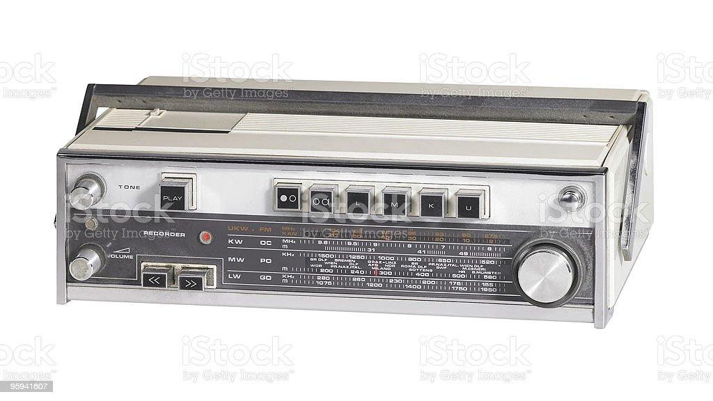 nostalgic radio royalty-free stock photo