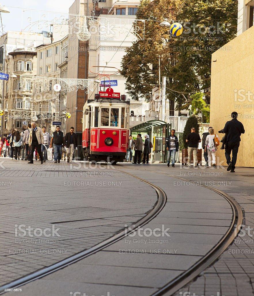 Nostalgic Trams royalty-free stock photo